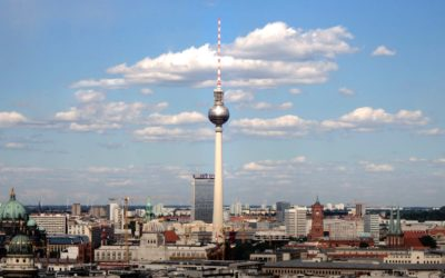 Sönke Lund attends the European Start-Up Conference in Berlin organized by IBA