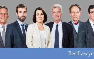 Best Lawyers 2021 reconoce la labor de seis socios de Grupo Gispert
