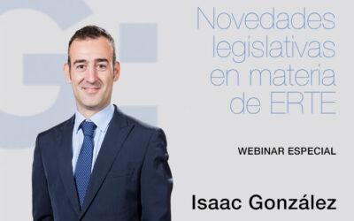 Novedades legislativas en materia de ERTE. Webinar especial